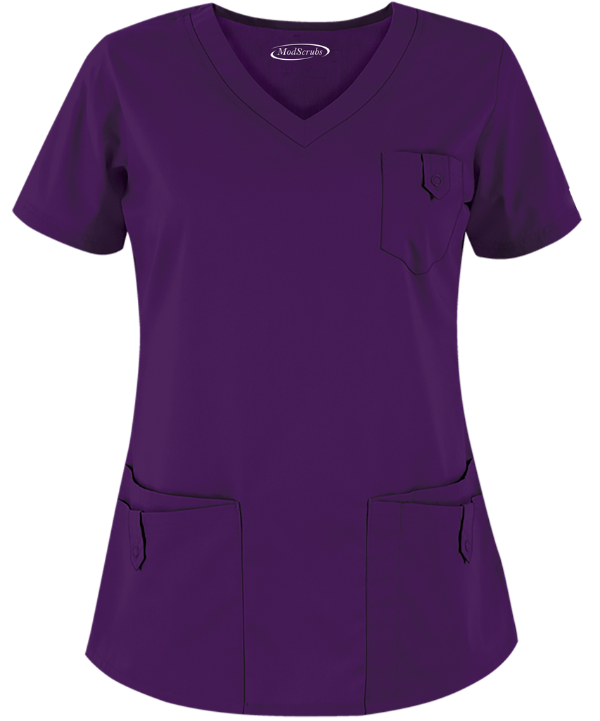 Women 4 Pocket Scrubs