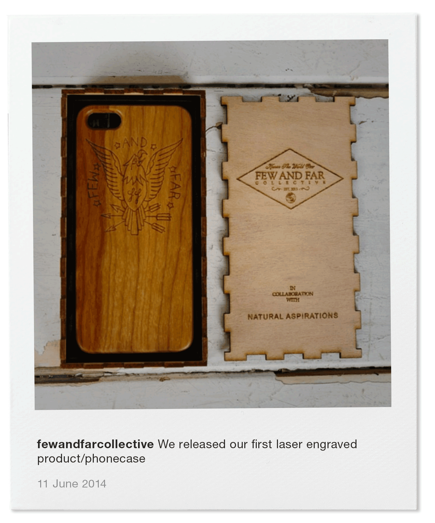We released our first laser engraved product/phonecase