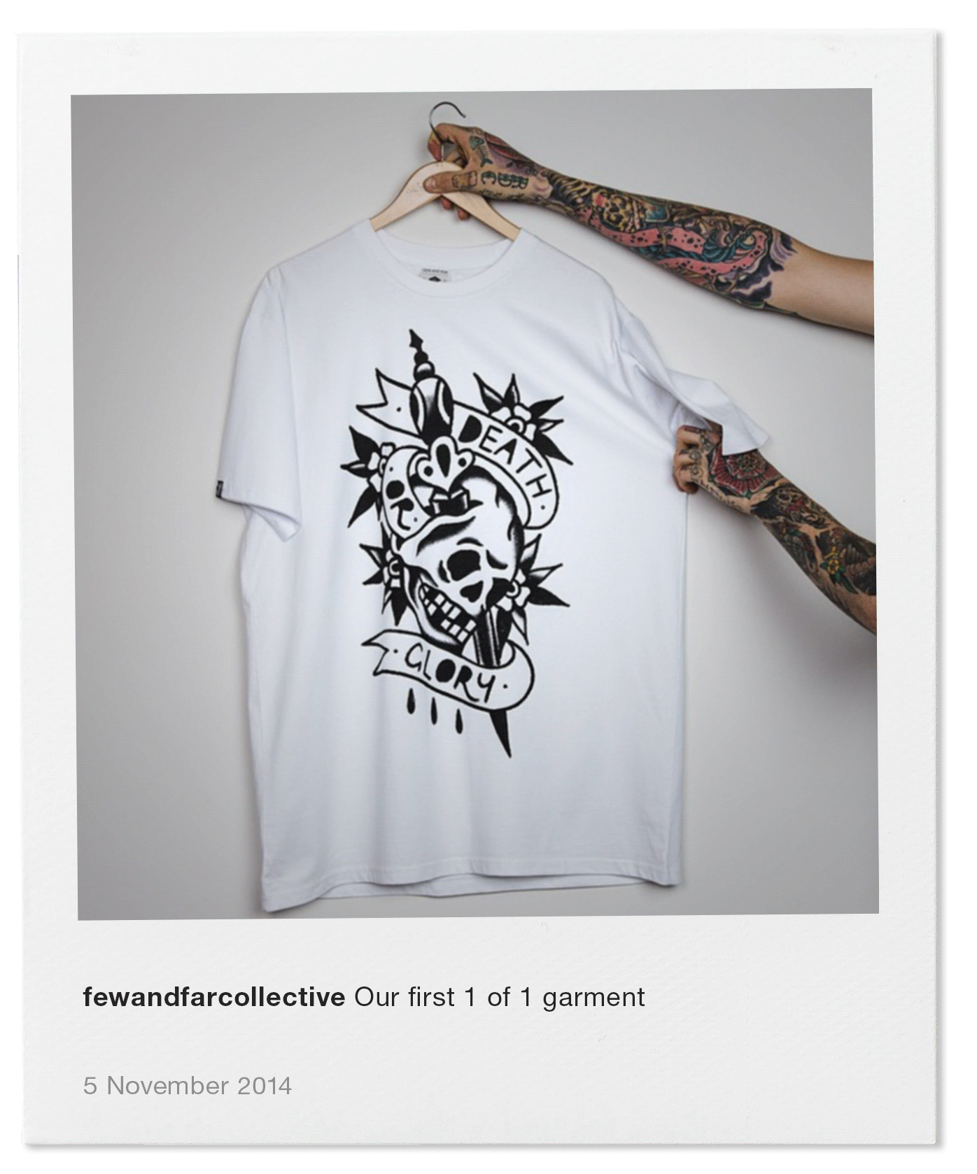 Our first 1 of 1 garment