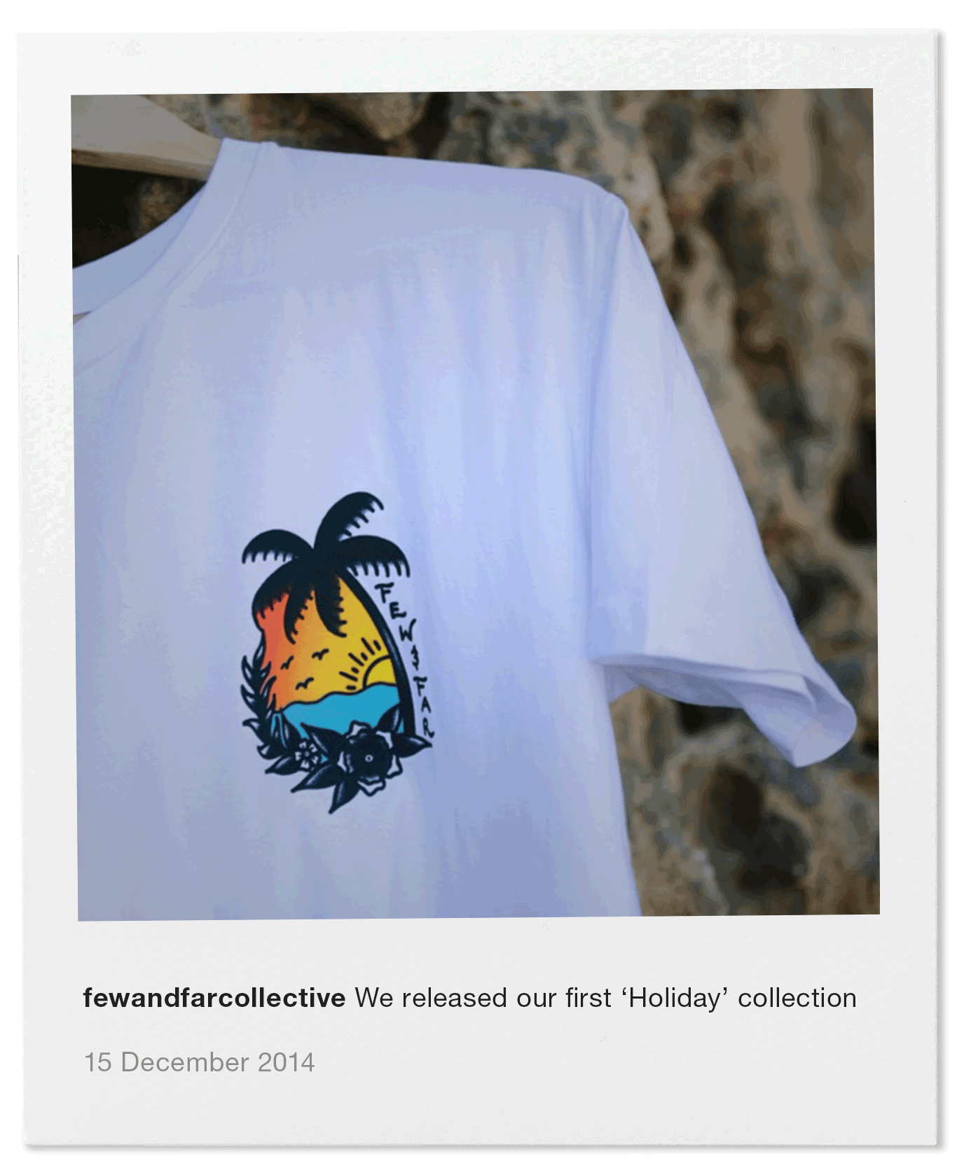 We released our first 'Holiday' collection