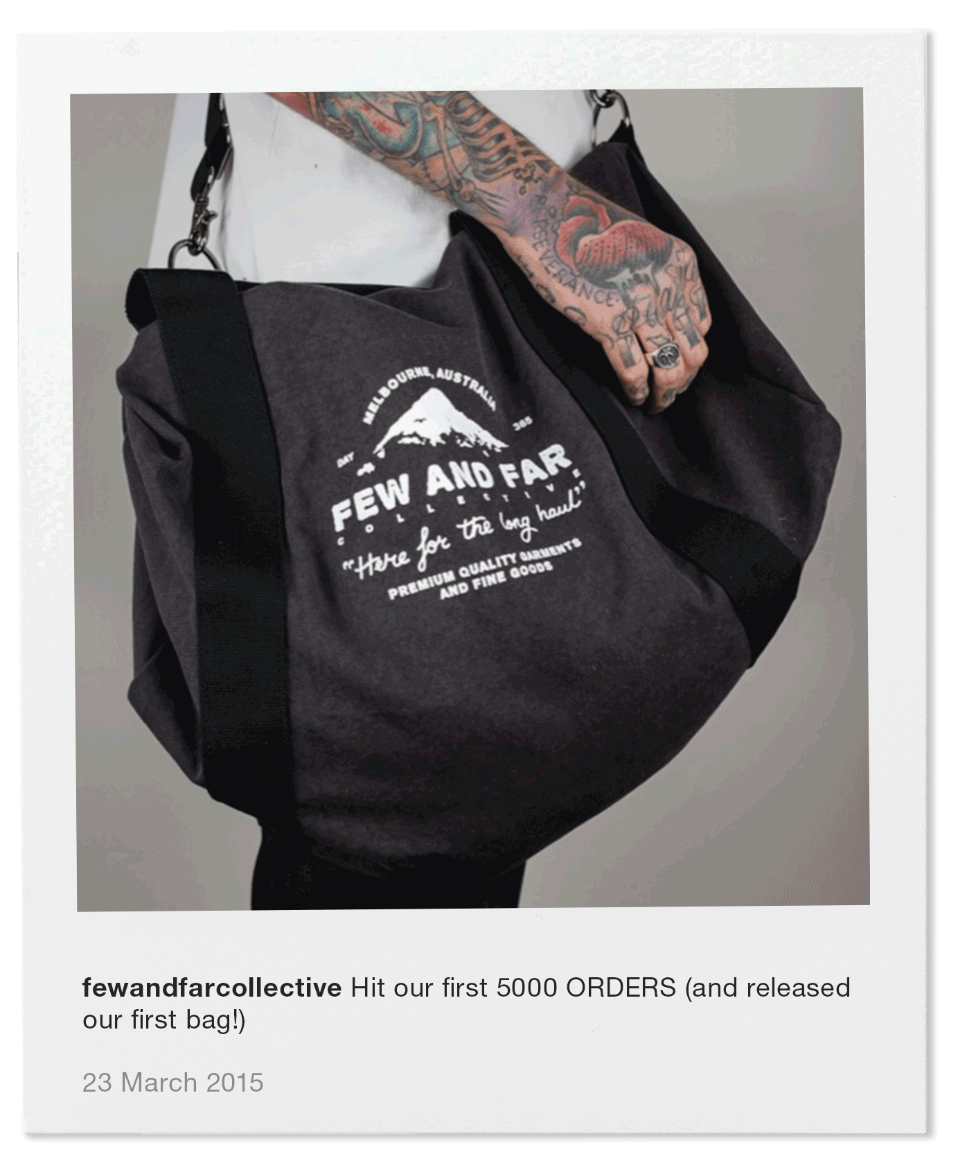 Hit our first 5000 ORDERS (and released our first bag!)