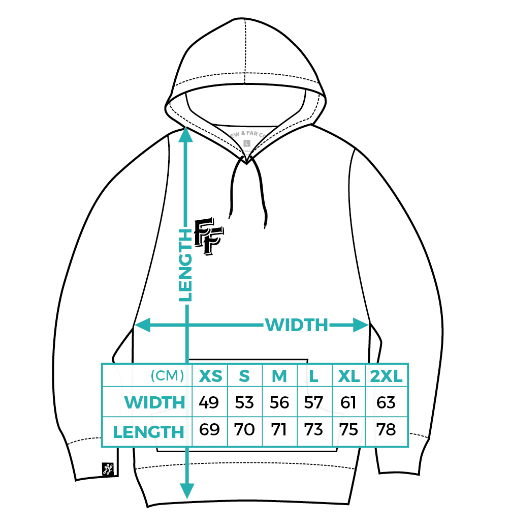 Few and Far Collective Hoodie