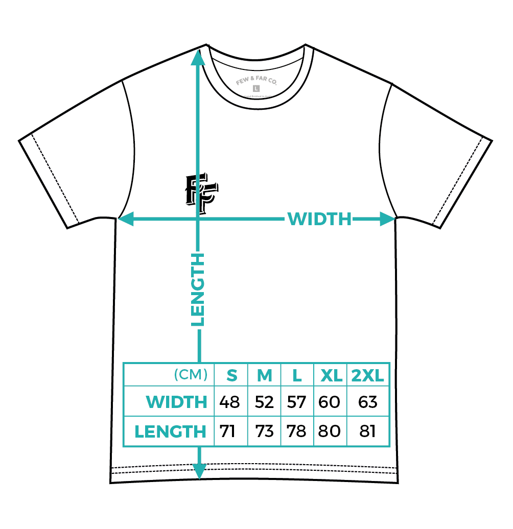 Regular Few and Far Collective Tee