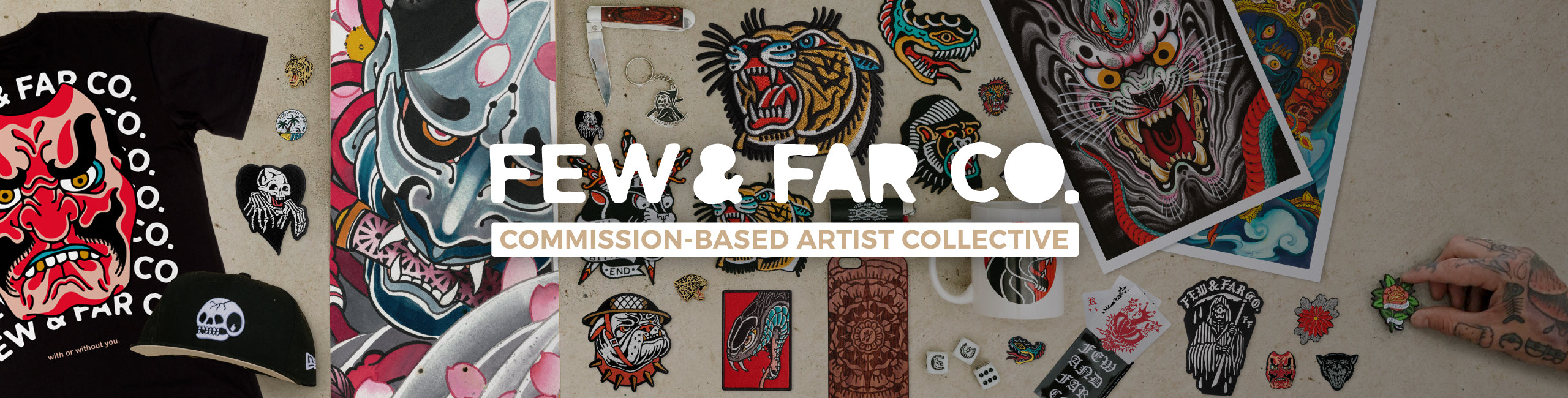 Few and Far Co Commission Based Artist Collective