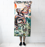 'Tiger vs Snake' Towel