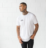White 'Blue Skies' Tall Tee