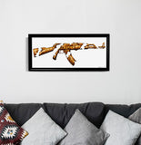 золотой (Golden)' Fine Art Print