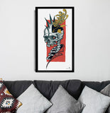 'Anarchist' Fine Art Print