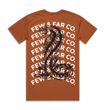 Copper 'Cobra Blastover' Tee