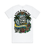 White 'Rising Tide' Tall Tee