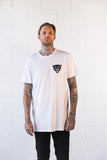 White 'Born to Live' Tall Tee