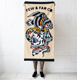 'Eagle/Skull/Snake' Towel