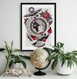 'No Limits' Fine Art Print by Jelle Soos printed by Few and Far Studio for Few and Far Co.