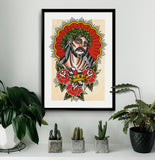 'Jesus Saves' Fine Art Print