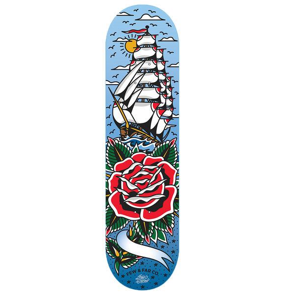 [PRE-ORDER] Personalised 'Sail Away' Deck