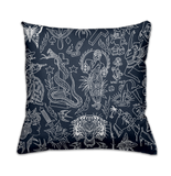 'Blue Arms Flash' Cushion Cover