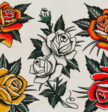 'Roses' Fine Art Giclee print by Tony Blue Arms printed by Few and Far Studio for Few and Far Co.