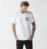 White 'Bulldog' Tall Tee