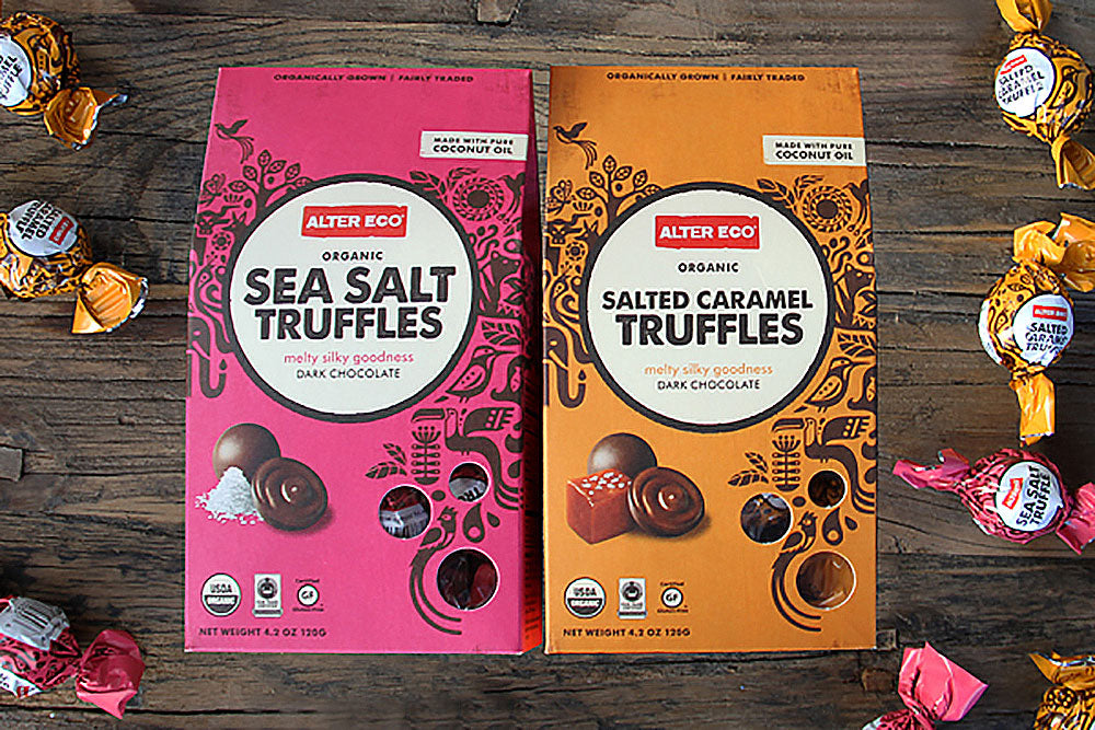 Alter Eco choclate truffles