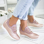 Women Casual Ladies Athletic Slip On Sneakers