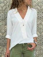 Acrylic Casual Solid Blouses & T-Shirts