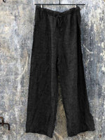 Simple Linen Women Basic Pants