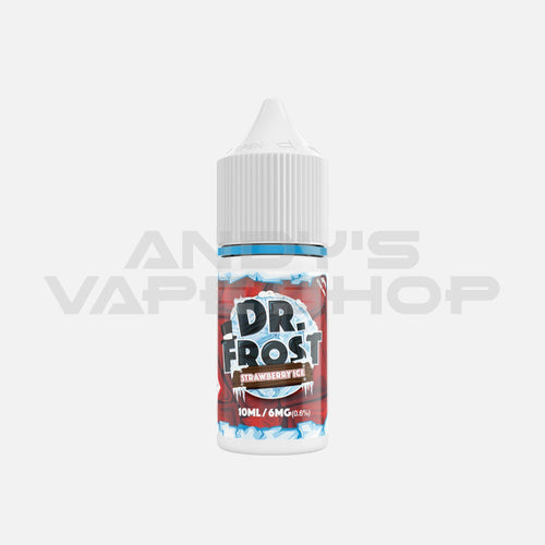 Dr Frost Strawberry Ice 10ml E- Liquid-E-Liquid-Dr Frost-Andy's Vape Shop