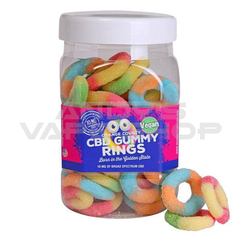 Orange County CBD GUMMY RINGS (LARGE)
