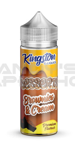 Kingston Brownies & Cream E Liquid 100ml Shortfill 0mg-E-Liquid-Kingston-Andy's Vape Shop