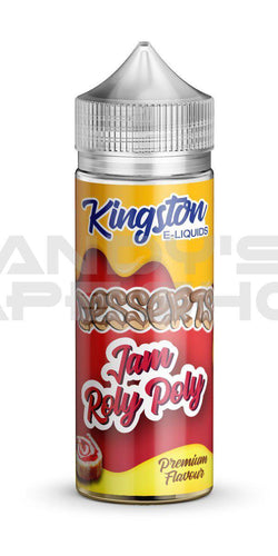 Kingston Jam Roly Poly E Liquid 100ml Shortfill 0mg-E-Liquid-Kingston-Andy's Vape Shop