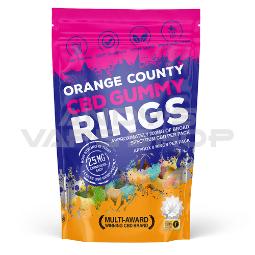 Orange County CBD Gummy Rings Grab Bag