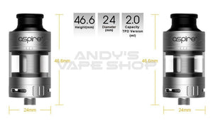 Aspire Cleito Pro Tank-Tanks-Aspire-Andy's Vape Shop