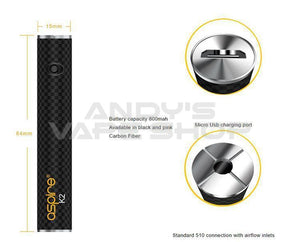 ASPIRE K2 VAPE PEN QUICK START KIT-Vape Kits-Aspire-Andy's Vape Shop