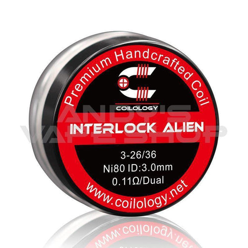 Coilology Interlock Alien Handmade Coils-Coils-Coilology-Andy's Vape Shop