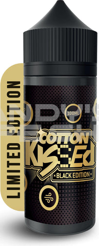 Cotton Kissed Black Edition E Liquid 100ml Shortfill-E-Liquid-Cotton Kissed-Andy's Vape Shop