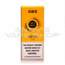Load image into Gallery viewer, OBS Cube M3 Coils 0.15ohm-Coils-OBS-Andy's Vape Shop