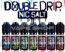 Load image into Gallery viewer, Double Drip Cherry Bakewell Nic Salt 20mg-E-Liquid-Double Drip-Andy's Vape Shop