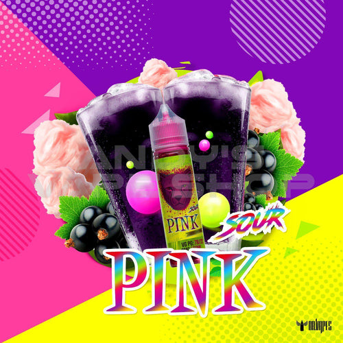 Dr Vapes Pink Sour E Liquid 50ml Shortfill 0mg-E-Liquid-Dr Vapes-Andy's Vape Shop