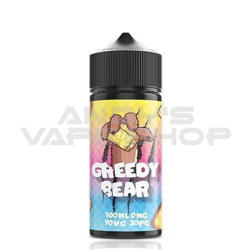 Greedy Bear Marshmallow Madness E Liquid 100ml Shortfill