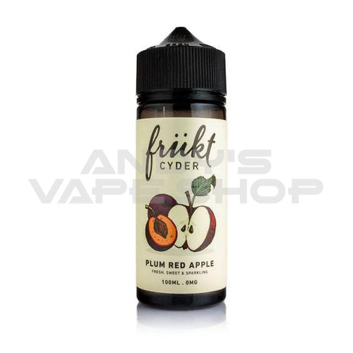 FRUKT CYDER Plumb & Red Apple E Liquid 100ml 0mg-E-Liquid-FRUKT-Andy's Vape Shop