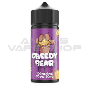 Greedy Bear Bloated Blueberry E Liquid 100ml Shortfill
