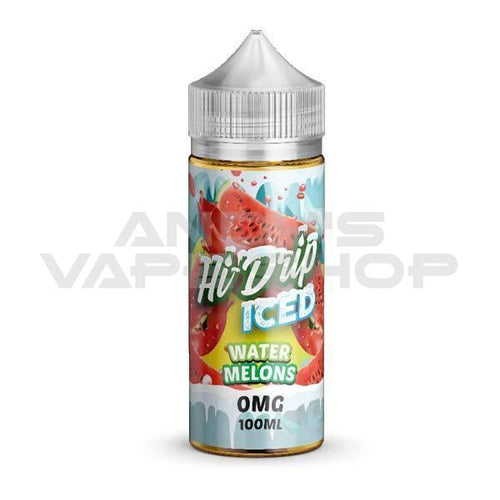 Hi Drip Water Melons Iced E Liquid 100ml Shortfill-E-Liquid-Hi Drip-Andy's Vape Shop