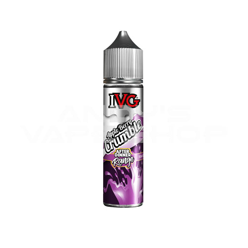 IVG After Dinner Range - Apple Berry Crumble 0mg 50ml Shortfill-E-Liquid-IVG-Andy's Vape Shop
