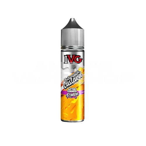 IVG After Dinner Range Butterscotch Custard E Liquid 50ml 0mg Shortfill-E-Liquid-IVG-Andy's Vape Shop