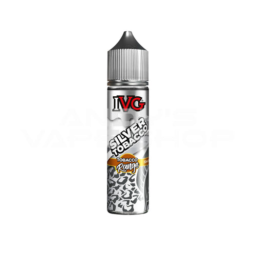 IVG Tobacco - Silver E Liquid 0mg 50ml Shortfill-E-Liquid-IVG-Andy's Vape Shop