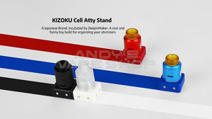 KIZOKU Cell Atty Vape Tank Stand 4 in 1 Blister Pack-Accessories-Kizoku-Andy's Vape Shop