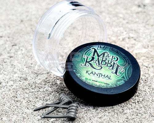 Mad Rabbit Pre made Coils - Kanthal Flat Twisted 0.36ohm-Coils-Mad Rabbit-Andy's Vape Shop