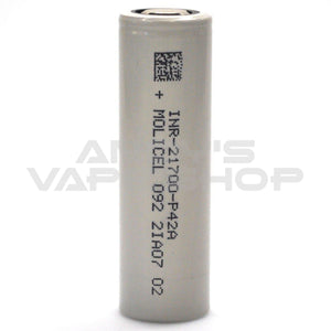 Molicel Battery P42A 21700 30a 4200mah-Batteries-Molicel-Andy's Vape Shop
