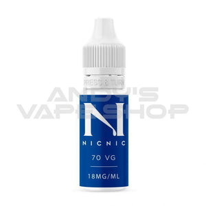 NIC NIC NICOTINE SHOT 70/30 VG/PG 18MG 10ML-E-Liquid-NicNic-Andy's Vape Shop