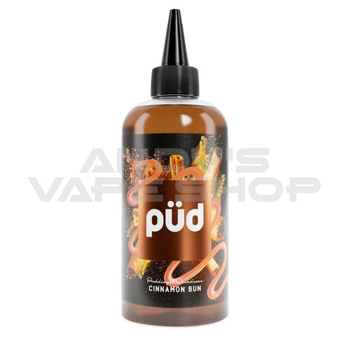 PUD Cinnamon Bun E liquid 200ml shortfill 0mg-E-Liquid-PUD-Andy's Vape Shop